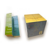 """IA 015 / IA 017 Mini Magic Cube (2"""")/Magic Cube (2-3/4"""")"""